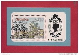 NAMIBIA, 1990, Cancelled Block Nr. 12  Tourism # 7207 - Namibia (1990- ...)