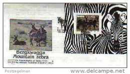 NAMIBIA, 1991, Mint FDC 1.6ms, Nature Conservation, Block 13 - Namibië (1990- ...)