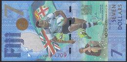Fiji 7 Dollar 2017 Pnew UNC - Fidji