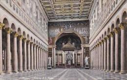 Italy Roma Rome Interno di San Paolo