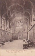 England London Hampton Court Palace Cardinal Wolsey's Great Hall