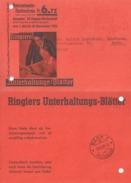 """Abo NN  """"Ringiers Unterhaltungs-Blätter, Zofingen""""  (23 Rp.-Frankatur)            1932 - Storia Postale"""