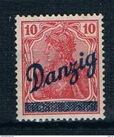 Danzig Michel Nr. 36 Postfrisch Mit Falz - Dantzig