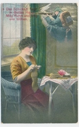 1915 - Das Schiksal Liegt In Gottes Hand Mög' Ruhm Und Sieg Uns Blühen Mit Zensurstempel - Weltkrieg 1914-18