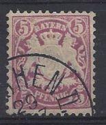 Bayern 1881 5pf (o) Mi.48 - Bavaria