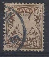 Bayern 1881 50pf (o) Mi.52 - Bavière