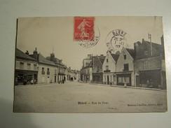 T39 BLERE Rue Du Pont  1907 - Bléré