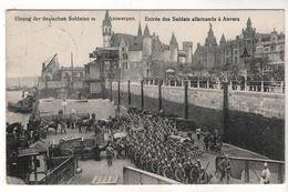 Nr. 9252,  Feldpost, Anvers, Antwerpen, Tournai - Guerra 1914-18