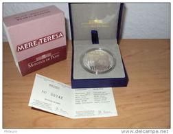 France 2010: 10€ En Argent ´MERE TERESA´ (qualité BE Et En Coffret) - Francia