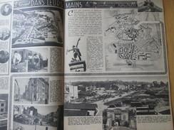 1948 MAUBEUGE La Nouvelle Travaux Plan  Après Guerre - Maubeuge