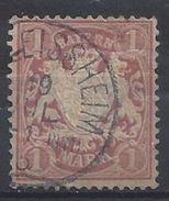 Bayern 1881 1M (o) Mi.53xa - Bavière