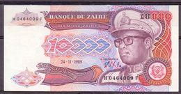 Zaire 10000 1989 Unc - Zaïre