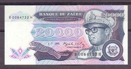 Zaire 20000 1991 Unc - Zaïre