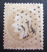 LOT R1631/1777 - NAPOLEON III Lauré N°28A - SUPERBE ETOILE N°24 De PARIS - 1863-1870 Napoléon III Lauré