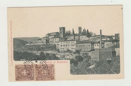 CASTELLO DI MONTECATINI - VIAGGIATA PRIMI 900 - ITALY POSTCARD - Pistoia