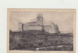 ASSISI - LA ROCCA NEL XIV SECOLO (1300-1400) - VIAGGIATA 1933 - POSTCARD - Perugia