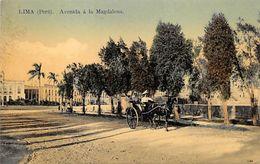 Lima, Peru - Avenida A La Magdalena - Peru