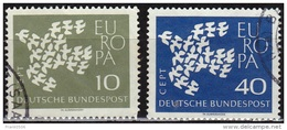 Germany 1961, Europa Issue, Used - [7] Federal Republic