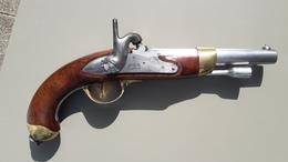 Superbe Pistolet Mle 1822 Tbis - Armes Neutralisées