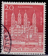 Germany 1961, Speyer Cathedral 20pf, Sc#843, Used - [7] Federal Republic