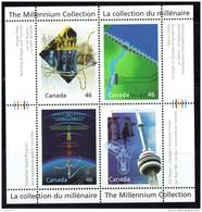 2000 Millenium Series Technological Achievements Souvenir Sheet Of 4 Different Sc 1831  MNH - 1952-.... Reign Of Elizabeth II