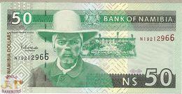 NAMIBIA 50 DOLLARS 2003 PICK 8a UNC - Namibia