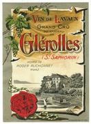 Rare // Glérolles-St.Saphorin, Hoirie Roger Ruchonnet à Rivaz, Vaud // Suisse - Etiquettes
