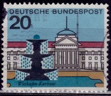 Germany 1964-65, Fountain - Wiesbaden, 20pf, Sc#872, Used - [7] Federal Republic