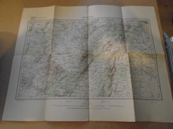 MAKTAR  GRAVE, DRESSE, ET PUBLIE AU  SERVICE GEOGRAPHIQUE DE L'ARMEE  REVISION DE 1931  TUNISIE FEUILLE VIII - Cartes Géographiques