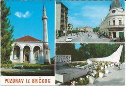 Bosnia And Herzegovina Brcko Mosque.Islam Monument.USED POSTCARD - Bosnien-Herzegowina