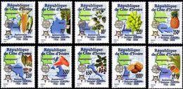 COSTA D'AVORIO  2005, 50 Years Europa Stamps  Mi. 1461/70 Serie Cpl. 10v.  Nuovi** Perfetti - Costa D'Avorio (1960-...)