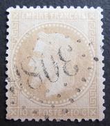 LOT R1631/1804 - NAPOLEON III Lauré N°28B - GC 3086 RAON-L'ETAPE (Vosges) INDICE 4 - 1863-1870 Napoléon III Lauré