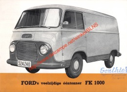 Ford FK 1000 Brochure - Camions