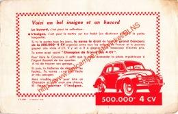 Champion De France Des 4 CV - 21x13.5cm - Automobile