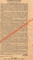 Commerzbank 1943 Auszug Aus Dem 73. Jahresbericht - Ancienne Coupure De Presse Originale - Documents Historiques