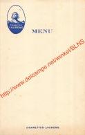 Cigarettes Laurens - Menu - 12x19cm - Tabak (verwante Voorwerpen)