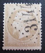 LOT R1631/1806 - NAPOLEON III N°21 - GC 3144 RIOM (Puy-de Dome) - 1862 Napoléon III