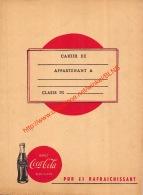 Ancien Protège Cahier Coca-Cola - Coca-Cola