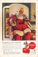 Coca-Cola 1947 Annonce-advert-advertentie - Papier Légère Cartonné 25 X 17 Cm - Affiches Publicitaires