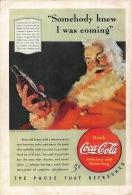 Coca-Cola 1940 Annonce-advert-advertentie - Papier Légère Cartonné 25 X 17 Cm - Affiches Publicitaires