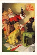 Coca-Cola 1964 Annonce-advert-advertentie - Papier Légère Cartonné 25 X 17 Cm - Poster & Plakate