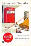 Coca-Cola 1948 Annonce-advert-advertentie - Papier Légère Cartonné 25 X 17 Cm - Advertising Posters