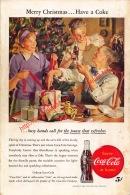 Coca-Cola 1946 Annonce-advert-advertentie - Papier Légère Cartonné 25 X 17 Cm - Affiches Publicitaires