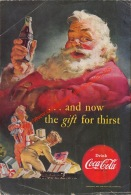 Coca-Cola 1952 Annonce-advert-advertentie - Papier Légère Cartonné 25 X 17 Cm - Advertising Posters
