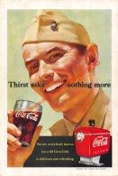 Coca-Cola 1951 Annonce-advert-advertentie - Papier Légère Cartonné 25 X 17 Cm - Affiches Publicitaires