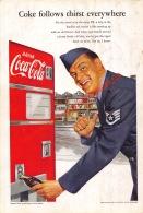 Coca-Cola 1952 Annonce-advert-advertentie - Papier Légère Cartonné 25 X 17 Cm - Affiches Publicitaires