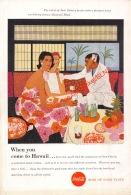 Coca-Cola 1957 Annonce-advert-advertentie - Papier Légère Cartonné 25 X 17 Cm - Poster & Plakate
