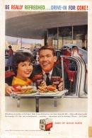 Coca-Cola 1959 Annonce-advert-advertentie - Papier Légère Cartonné 25 X 17 Cm - Affiches Publicitaires