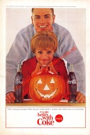 Coca-Cola 1964 Annonce-advert-advertentie - Papier Légère Cartonné 25 X 17 Cm - Advertising Posters