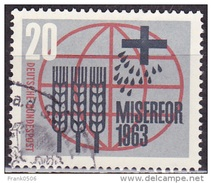 Germany 1963, Fight Against Hunger, 20pf, Sc#856, Used - [7] Federal Republic
